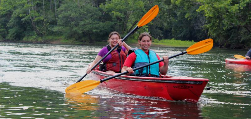 Saluda River Paddle