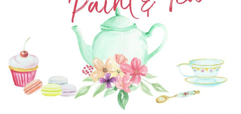 Mother Daughter Paint and Tea