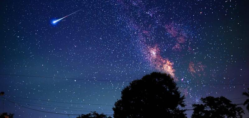Perseid's Back to School Meteor Shower