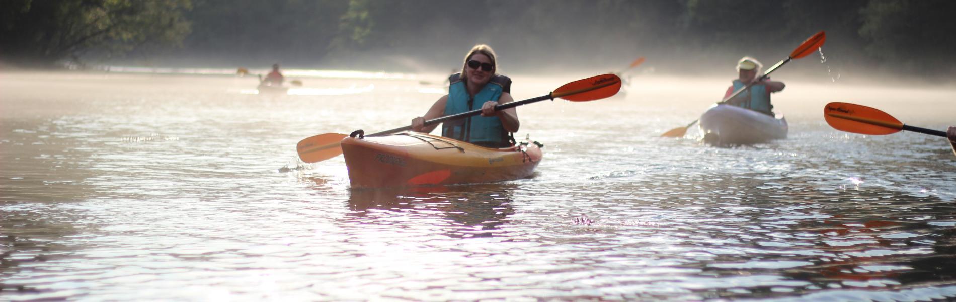 Paddle Saluda River