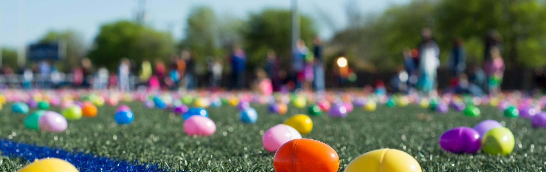 Saluda Shoals Park Egg Hunt