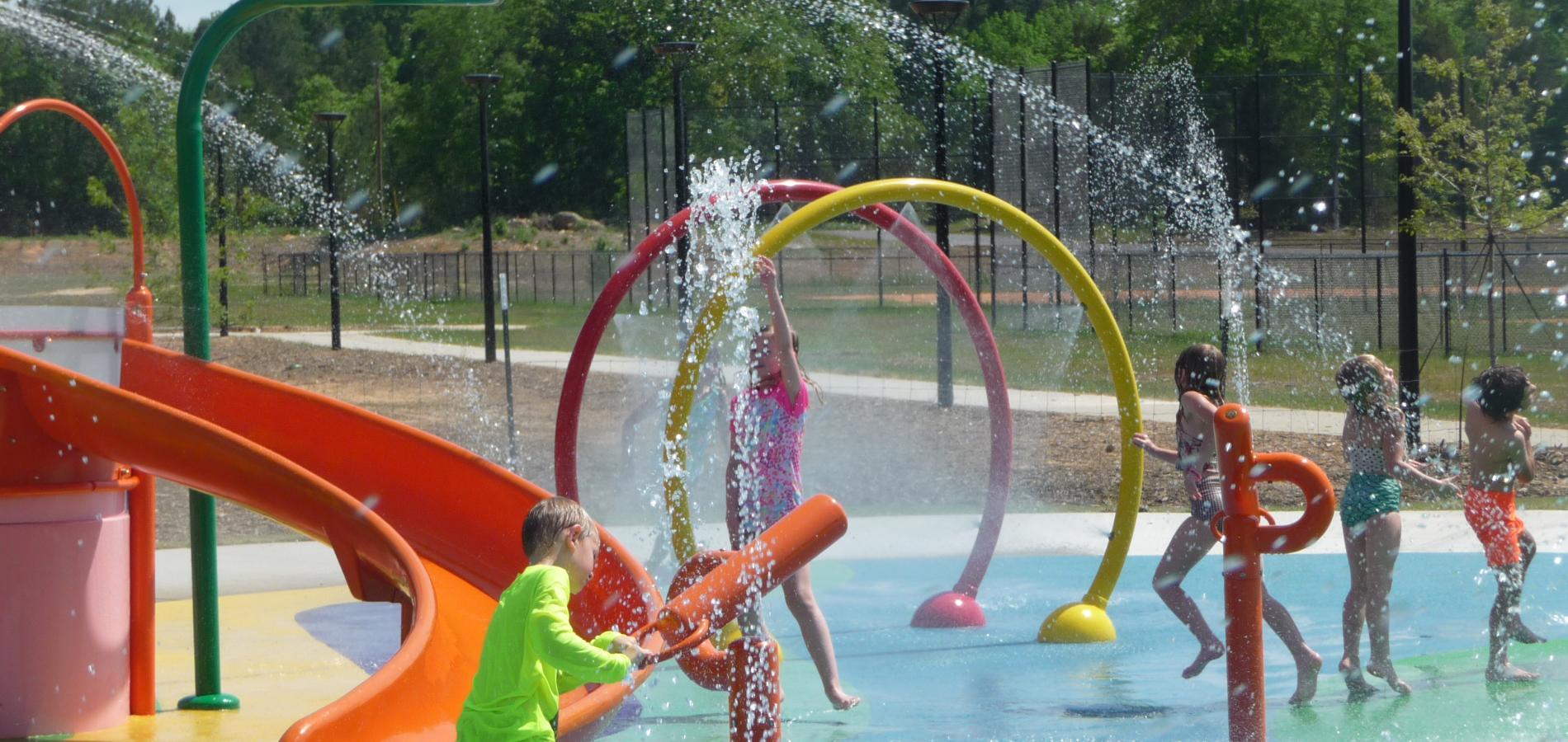 Melvin Park Splash Pad